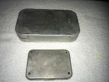 Two Vintage Wheatly Alloy Fly Boxes