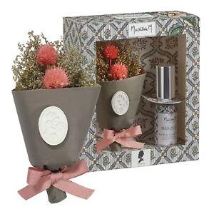 """Coffret Petit Bouquet Précieux Parfum """"MARQUISE Fleurs & Vaporisateur Mathilde M"""