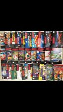 Lot de 29 Jaquettes Imprimées Pour Boite Universal Game Case Nes Snes N64