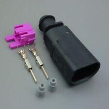 VW AUDI SKODA SEAT VAG 2 Pin Plug Waterproof Connector Kit 1J0 973 802
