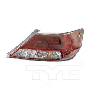 Right Tail Light Assembly For 2012-2014 Acura TL 2013 TYC 11-6445-90