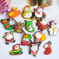 New Christmas Santa Claus Fridge Magnet Sticker Cute Funny Refrigerator Toy WC