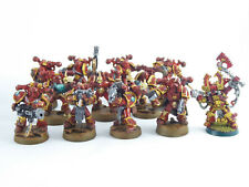 Kharn der Verräter - 11 Mann Chaos Marines der Chaos Space Marines - bemalt -