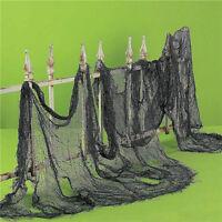 Fashion Halloween Creepy Gauze Cloth Door House Decor Gothic Props Party Decor