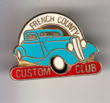 RARE PINS PIN'S .. AUTO CAR GARAGE FRENCH COUNTY TUNING CUSTOM CLUB FRANCE ~BY