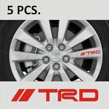 5 pcs Toyota TRD #1 Corolla Camry Supra Tacoma Tundra Door Handle sticker decal
