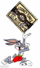 """7"""" Looney tunes bugs bunny fabric applique iron on character"""