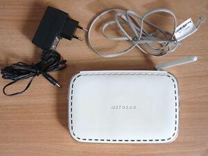ORIGINAL NETGEAR DG834GB 54 MBit/S WLAN ADSL 2+ WIRELESS MODEM ROUTER + ZUBEHÖR