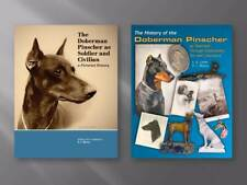 2 NEW Doberman Pinscher History Dog BOOKS War Soldier Civilian & Art Literature