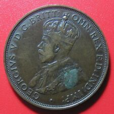 1923 JERSEY 1/12 SHILLING GEORGE V COLLECTABLE WORLD COIN 30.7mm BRONZE KM#14