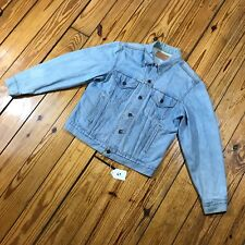 Vintage Levi's Denim Trucker Jacket - Light Wash 70506 0211 - Size: Medium - #69