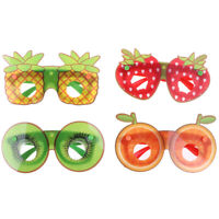 Creative Fruit Shape Kids Decorative Glasses Handmade DIY Party Sunglass Toys Pg