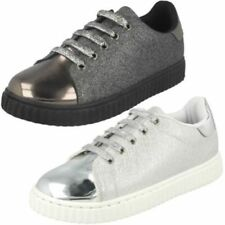 hot sale online 29799 25290 Chaussures métalliques avec lacets pour fille de 2 à 16 ans   Idées ...