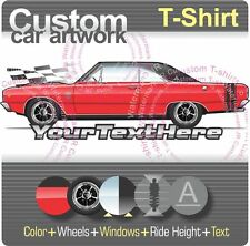 Custom T-shirt for 1968 68 Dodge Dart GTS GT Hardtop Coupe V8 Sport 340 383 Fans