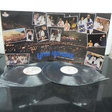 Lata Kishore Live at London Wembley 2 LP Set Bollywood Hindi Indian Book Fold NM