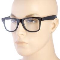 UNISEX READING GLASSES FASHION CLEAR FULL LENS MEN WOMEN RETRO VINTAGE STYLE b