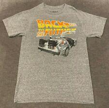 BACK TO THE FUTURE T-Shirt MEN'S SMALL S XS Soft Tee Movie 80s Retro Vtg Mens