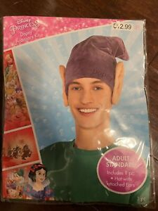 Disney princess Snow White adult standard Dopey accessory Kit hat HALLOWEEN