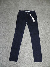 Romeo & Juliet Couture Jeans Skinny Charcoal Size 25 Inseam 29 RJ28826 NWT $140