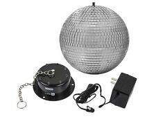 10-inch Disco Mirror Ball Motor Spin with LED Lights For DJ Disco Party Show