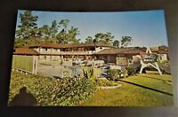Starlite Motel Monterey California CA Carmel Cars StarLite Pool Postcard Hotel
