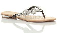 Calzado de mujer chanclas/flip flops planos, talla 36