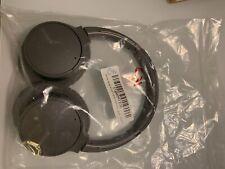 Sony Bluetooth Noise Canceling Over the Eear Wireless Headphones - Black...