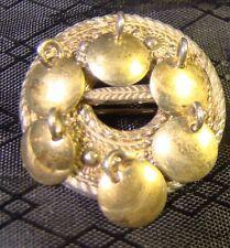 Vintage H C Ostrem Norwegian 830 Silver Celtic Kilt Pin Brooch