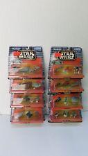 Lot of 8 STAR WARS Micro Machines Playsets I II III V VI VII X XII