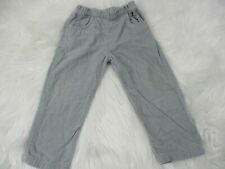 Robecta Boys Pants Size 2 Gray 100% Cotton Fall Winter