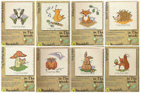 VAT Free Mouseloft In the Woods Animals Fun Easy Counted Cross Stitch Kits New