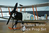 Tony Ray Aero Model Avro 504 K Laser Cut Balsa Kit W/S 505mm With G/Motor & Prop