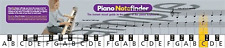 Piano & clavier note finder guide visuel graphique tous les 88 notes notefinder