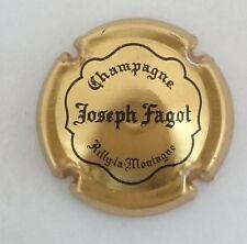 capsule champagne FAGOT joseph n°9 or et noir