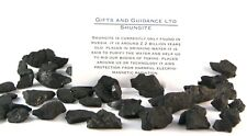 Shungite Raw 100 Grams 40-60 Pieces Electromagnetic Protection
