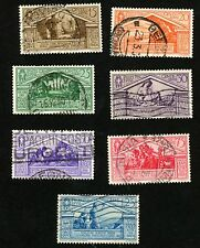 1930 ITALY Stamps Sct #248-254 All:  Used, HR