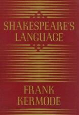 Shakespeare's Language, Frank Kermode, Good Condition, Book