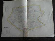 HISTORIC 1883 Map of the Township of WEST CALN, PA - Detailed Specific