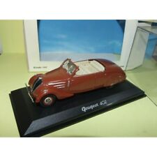 PEUGEOT 402 ECLIPSE Marron NOREV 1:43