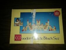 Chadwick Castle Blocks Vintage Wooden Block Set 1986