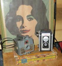 2 Vintage Film Cameras Imperial Mark Xii, Kodak Duaflex Ii