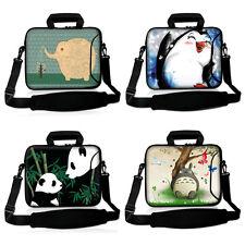 """Laptop Shoulder Bag Case Pouch Pocket Handle For 14"""" 15"""" 15.4"""" 15.6"""" Netbook PC"""