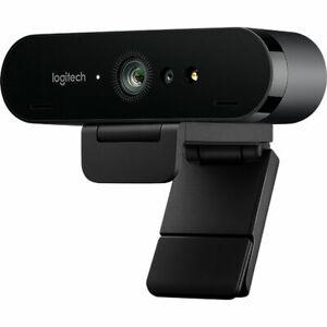 Logitech Webcam BRIO 4K Ultra HD HDR USB-C 90fps Zoom 5X Auto-Focus
