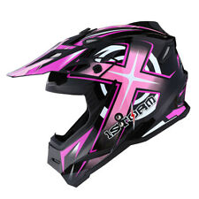 1Storm Adult Motocross Helmet Motorcross ATV MX BMX Dirt Bike Racing Pink
