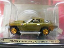 Johnny Lightning - Gold Series Muscle Cars (1 Of 5000) - 1966 Chevy Corvette