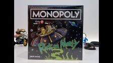 Rick and Morty Monopoly Gamestop Exclusive Edition USAopoly New and Sealed