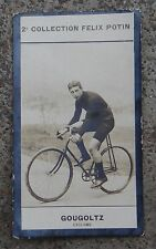 Chromo image Félix Potin Cyclisme Cycliste GOUGOLTZ Tour de France