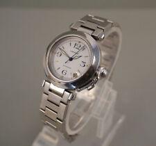 Cartier Pasha Automatic 2324 Edelstahl 35mm Damen / Herren Armbandruhr * Datum