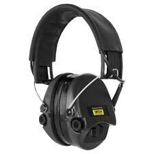 Sordin Supreme Pro-X LED Aktiver Kapsel-Gehörschutz Gelkissen Lederband Schwarz