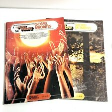 Ez Play Today Music Song Books #54 Gospel Favorites & #75 Sacred Moments Organ